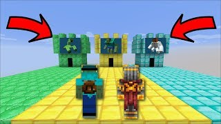 Minecraft DON'T ENTER THE WRONG CASTLE !! ENTER THE EMERALD GOLD OR DIAMOND CASTLE !! Minecraft Mods