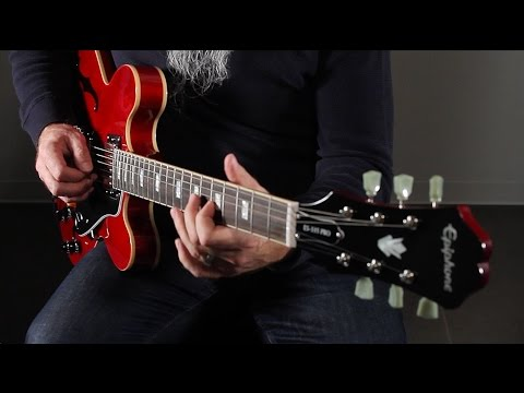 An Overview of the Epiphone ES-335 PRO