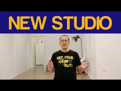 New HQ - Studio & Office set up