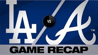 Fried, Ortega lead Braves for series win | Dodgers-Braves Game Highlights 8/18/19