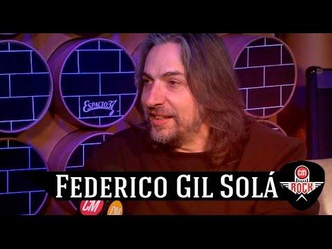 Federico Gil Solá video Entrevista CM Rock - Septiembre 2016
