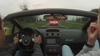 Lamborghini Gallardo Spyder Vs. Aston Martin V8 Vantage