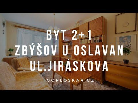 Video z << Prodej bytu 2+1, 71 m2, Zbýšov >>