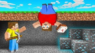 MINECRAFT But EATING = GET FAT!