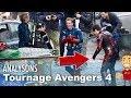 Avengers 4 : analysons les images du tournage !