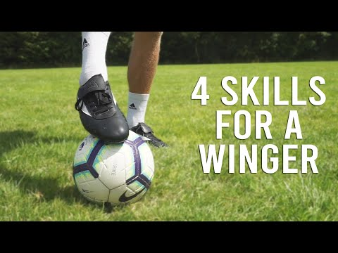 4 SOCCER SKILLS TO USE AS A WINGER!