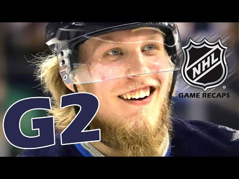 Minnesota Wild vs Winnipeg Jets. 2018 NHL Playoffs. Round 1. Game 2. April 13th, 2018. (HD)