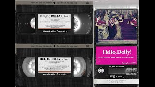Opening to Hello, Dolly! 1978 VHS