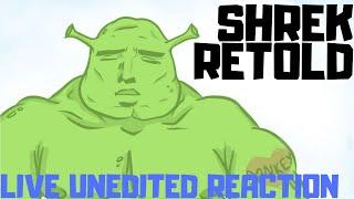 SHREK RETOLD /// FIRST REACTION w/ COMMENTARY /// Full Stream