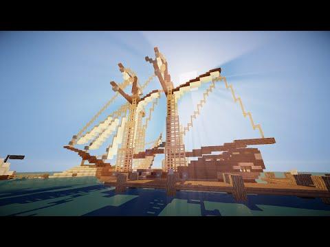 Pirate's Schooner Minecraft Project