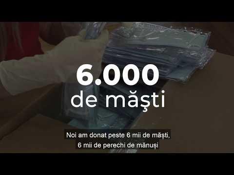 UNFPA Moldova a donat un lot de măști, mănuși și dezinfectanți pentru angajații Biroului Național de Statistică