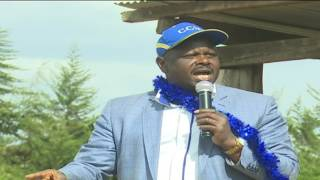 Un-Aired Exclusive: Bomet Governor Isaac Ruto is confident of CCM sweeping Jubilee's strongholds