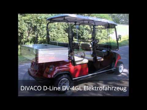 DIVACO D-Line DV-4GL Elektro Golfcart
