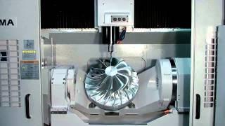Okuma's 5-Axis Vertical Machining Center, MU-500VA