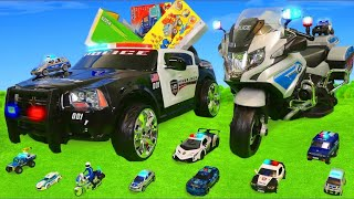 Police Cars Toy Vehicles for Kids - Toys, Truck and Trucks