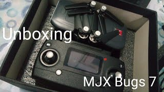 Drone unboxing MJX Bugs 7