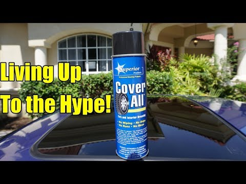 Cover All Tire Shine Review on my Honda Prelude.