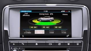 Jaguar XJ 2016   InControl Touch Pro Eco Data