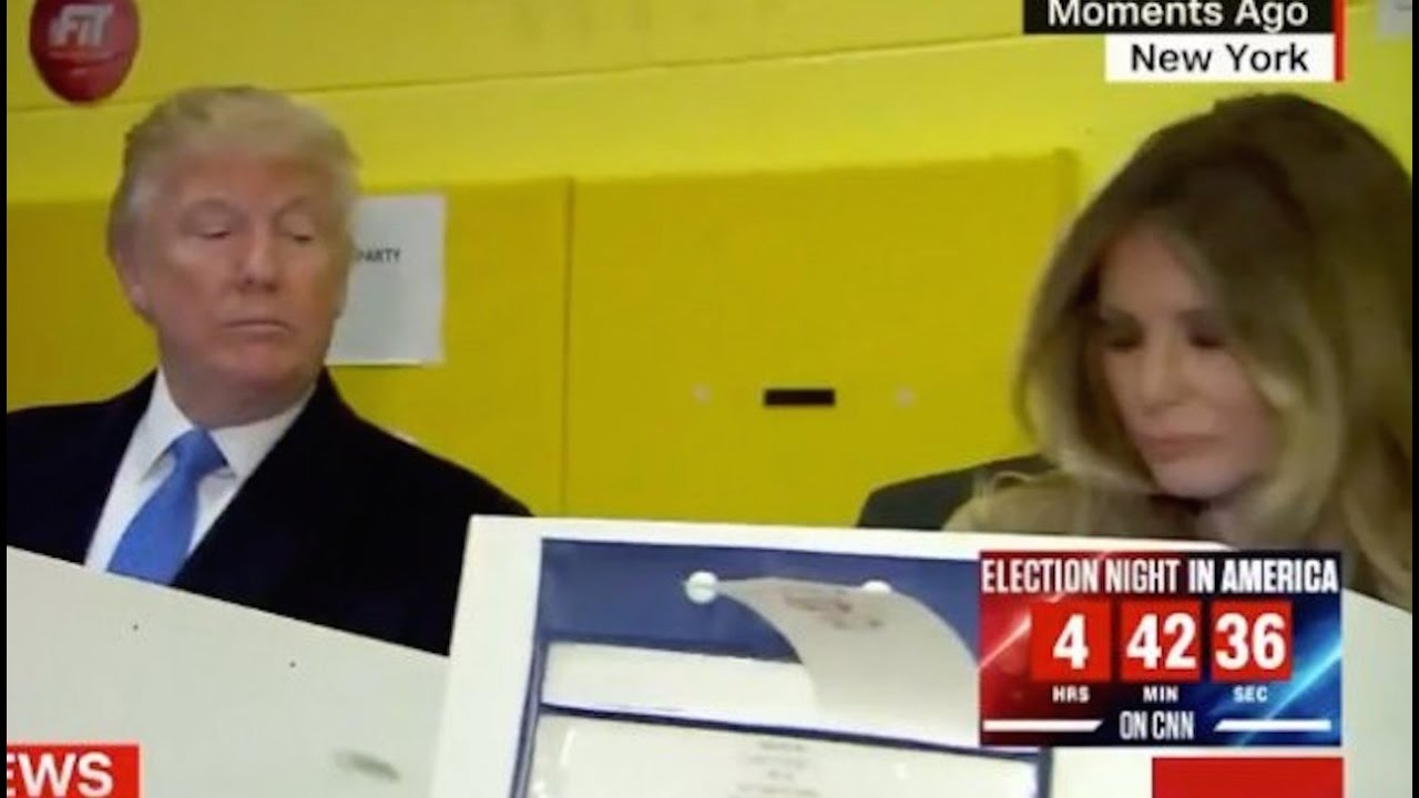 Why Did Trump Sneak A Peek At Melania's Ballot? thumbnail