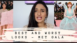 MET GALA FASHION REVIEW! BEST AND WORST!!! *VERY HONEST OPINIONS*