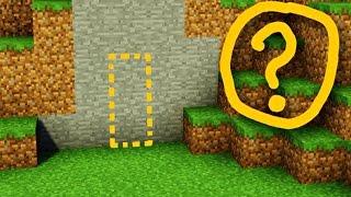 Майнкрафт: Секретная Дверь / Дом В СТЕНЕ - Как построить Редстоун МЕХАНИЧЕСКИЙ ПРОХОД В MINECRAFT