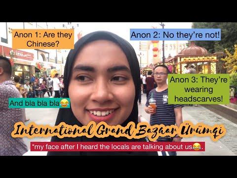 Uyghur Language and International Grand Bazaar Urumqi | Xinjiang, China 新疆中国