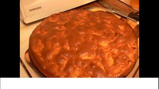 Как приготовить заливной пирог с яблоком