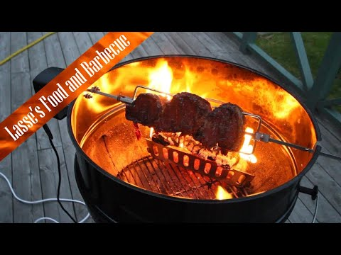 Picanha on the Weber Kettle Rotiesserie