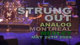 (2009) STRUNG OUT Analog MONTREAL (PUNK EMPIRE)