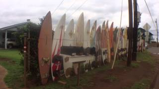 preview picture of video 'Cool surfboard fence'