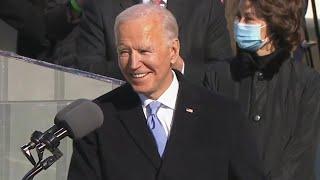 Watch Joe Biden's EMPOWERING Inauguration Speech