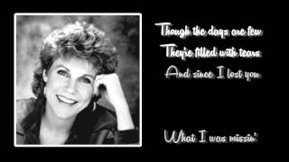 Anne Murray + You Won't See Me + Lyrics / HD