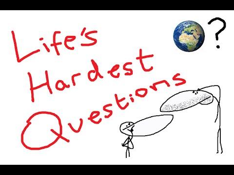 Nejtěžší životní otázky