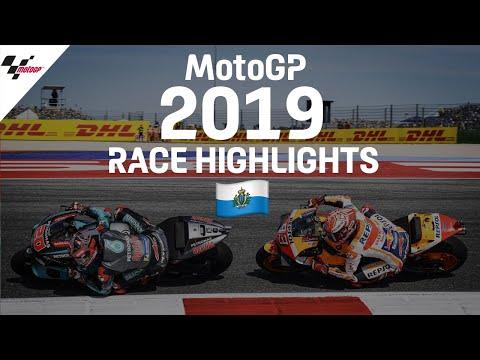 MotoGP 2019年に行われたMotoGP サンマリノGP レースハイライト動画