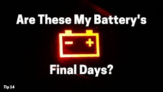6 Signs of a Dying Car Battery