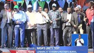 NASA leaders vow to stick together in order to kick Jubilee out of office