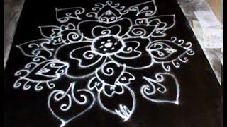 Muggulu Designs With Out Dots || Rangoli Kolam Designs Latest Free Hand || Key For Girls