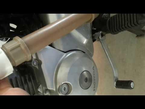 Honda movida a vapor de gasolina