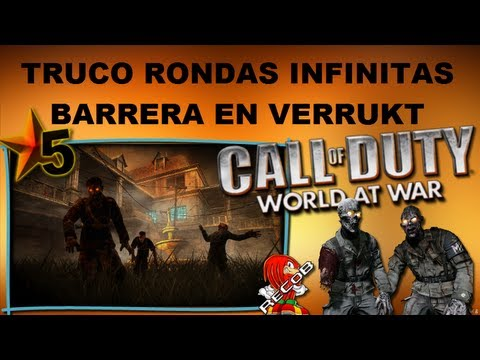 Truco Tutorial COD5 Zombies Barrera en Verruckt - By ReCoB