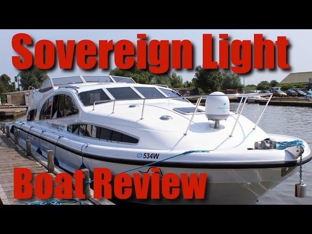 Norfolk Broads - Herbert Woods - Sovereign Light, 4 to 6 Berth Boat, Review - YouTube
