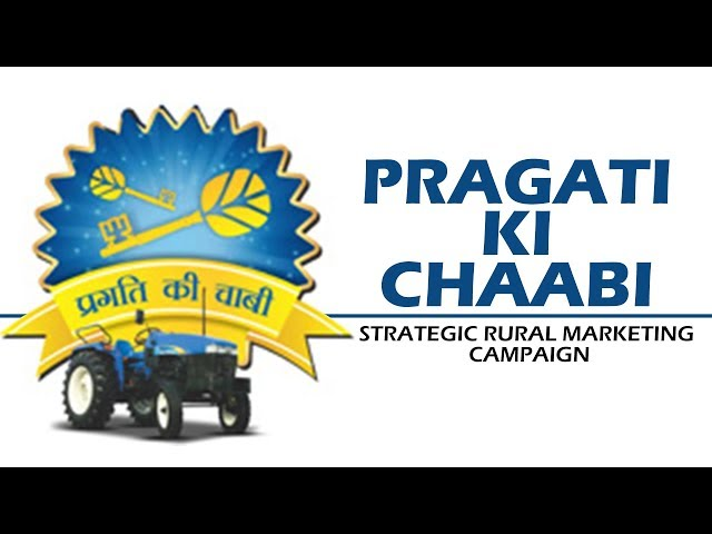 "New Holland Tractors ""Pragati Ki Chaabi"""