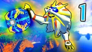Minecraft Pixelmon ULTRA LUCKY BLOCK Island - Episode 1 - SUPER SOLGALEO!!