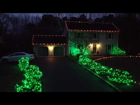 Beautiful and Simple Holiday Lighting in Millstone, NJ