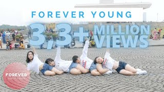 KPOP IN PUBLIC BLACKPINK FOREVER YOUNG DANCE COVER In PUBLIC INDONESIA