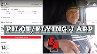 Pilot/Flying J Rewards Card and App