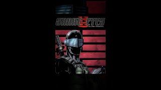 Snake Eyes - Snake Eyes Comic Book Piece