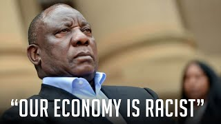 #CyrilRamaphosa #Economy #Lockdown  Our President, Cyril Ramaphosa, today called our economy racist and colonial. Yes, the past 26 years that the ANC has been in charge of the economy is null and void and it's still someone else's fault. If you thought he was going to usher in a new dawn... well now you can clearly see it's the same nightmare as before.  Buy my Merch: http://www.tsekclothing.com Donate via Zapper/Snapscan: https://bit.ly/3455PCl Donate via Paypal: https://paypal.me/renaldogouws  Become a Member of my Channel: https://bit.ly/2ZbL98m Subscribe on Youtube : http://bit.ly/1QhM6Gp  Be sure to like, leave a comment, share the video and subscribe!  Get in touch with me :  Facebook : https://www.facebook.com/renaldogouws Twitter : https://twitter.com/RenaldoGouws Instagram : https://instagram.com/renaldogouws  End Credit Music: beatsbyhand :  https://soundcloud.com/beatsbyhand https://www.instagram.com/beatsbyhand/ https://www.youtube.com/channel/UCoh5P14UbRVzoXbcQI9s1aw https://www.facebook.com/beatsbyhand?_rdc=1&_rdr