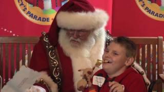 Macy's Santa Tour: Wynonna Judd Singing Christmas Carols to the Children of Make-A-Wish