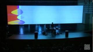 "Ars Electronica 2009: alva noto: ""Unitxt Derivative Version,2009"" (short version)"