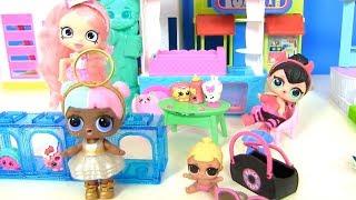Детский Сад  в Нью-Йорке для Куклы #Лол Сюрприз! Мультик LOL Surprise! Shopkins